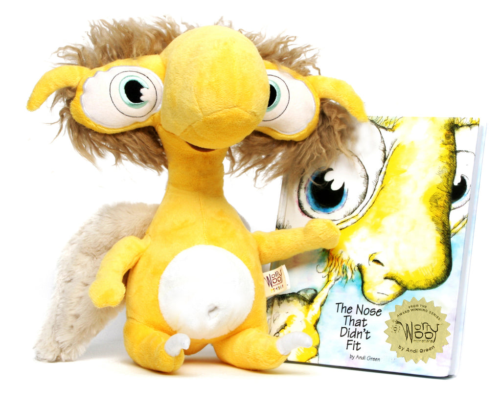 Rue - The Monster of Insecurity - WorryWoo Plush Toy - Spiffy