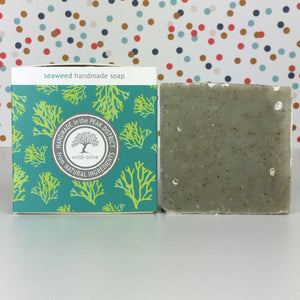 Seaweed Handmade Soap by Wild Olive - Soap - Spiffy