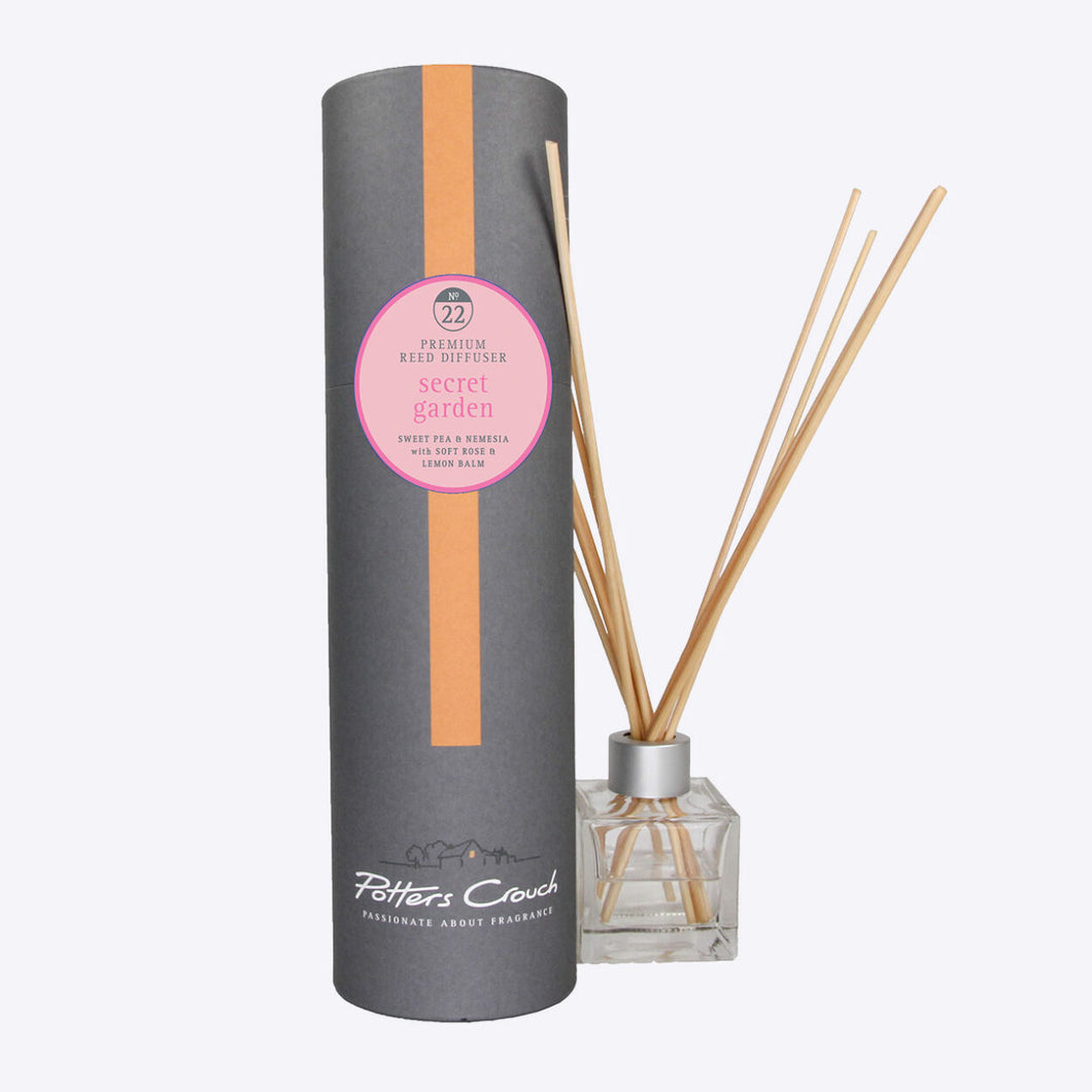 Potters Crouch Secret Garden Luxury Reed Diffuser - Reed Diffusers - Spiffy