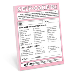 Self-Care Prescription Nifty Notes Notepad - Spiffy