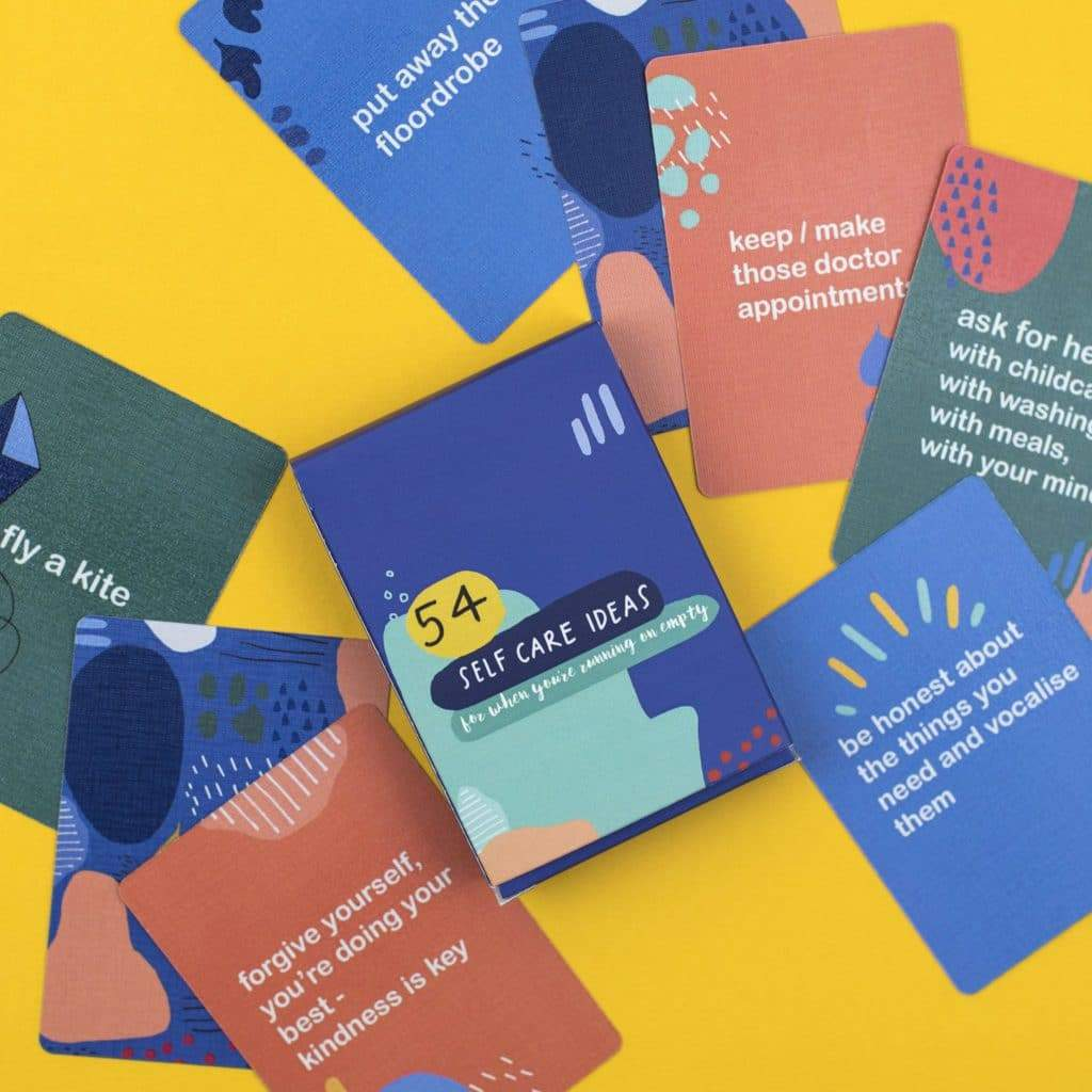 54 Self-Care Ideas Card pack - Spiffy