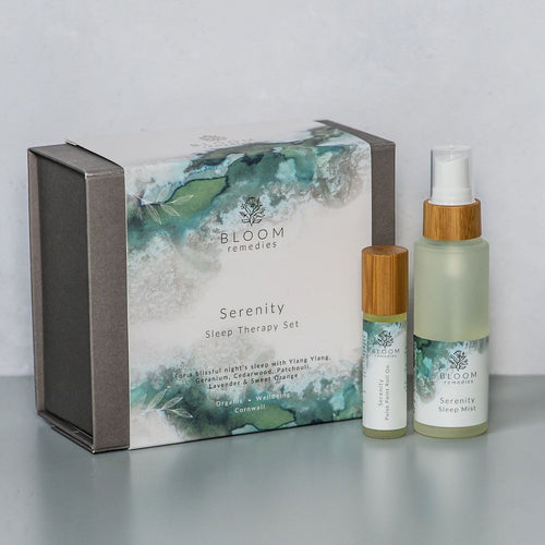 Serenity Therapy Sleep Set - Essential Oil Blends - Spiffy