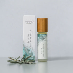 Serenity Pulse Point Roll-On (10ml) - Essential Oil Rollerballs - Spiffy