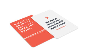 Sh*t Happens Affirmation Cards - Spiffy