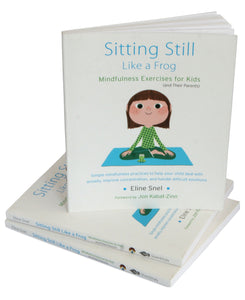 Sitting Still Like a Frog (Book and CD by Eline Snel) - Books for Children age 7-11 - Spiffy