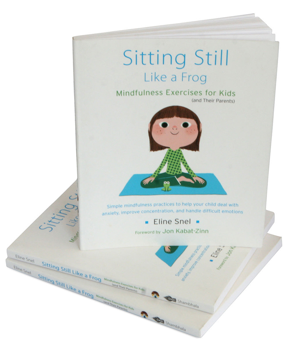 Sitting Still Like a Frog (Book and CD by Eline Snel)