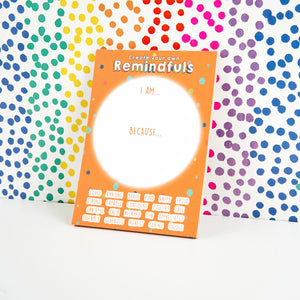 Create Your Own Kids Remindfuls A6 Notepad - Spiffy