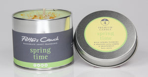 Potters Crouch Spring Time Luxury Fragranced Candle Tin