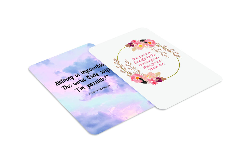 The Little Box Of Positivity Affirmation Cards - Spiffy