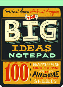 The Big Ideas Notepad - Notepads - Spiffy