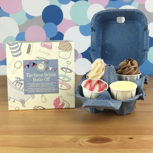 The Great British Bathe Off Luxury Bath Melt Gift Set by Wild Olive - Bath Melts - Spiffy