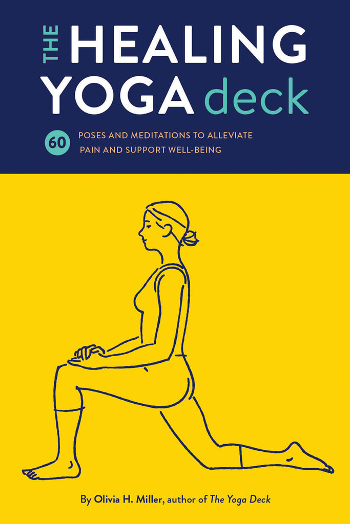 The Healing Yoga Deck - Yoga Cards - Spiffy