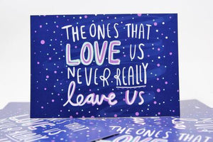 The Ones That Love Us - A6 Postcard by Katie Abey - Postcards - Spiffy