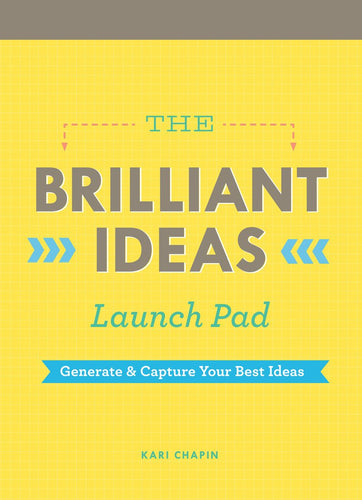 The Brilliant Ideas Launch Pad - Notepads - Spiffy
