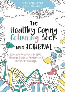 The Healthy Coping Colouring Book and Journal - Colouring Books - Spiffy