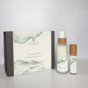 Tranquility Calming Therapy Set - Essential Oil Blends - Spiffy