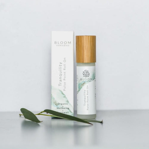 Tranquility Pulse Point Roll-On (10ml) - Essential Oil Rollerballs - Spiffy