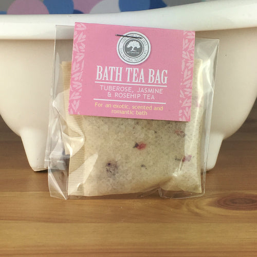 Tuberose, Jasmine and Rosehip Tea - Bath Tea Bag by Wild Olive - Bath Tea Bags - Spiffy