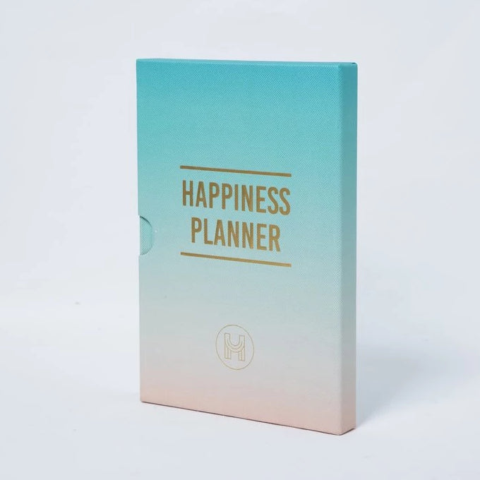 The 100 Day Planner - Turquoise and Peach - Journals - Spiffy