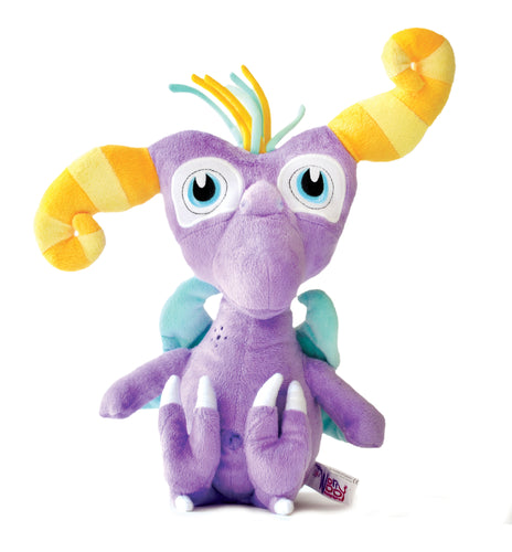 Twitch - The Monster of Frustration - WorryWoo Plush Toy - Spiffy