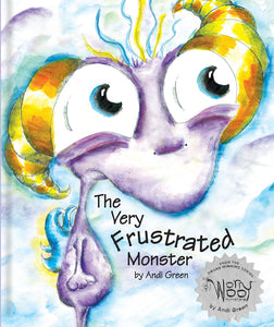 Twitch - The Very Frustrated Monster - WorryWoo Book