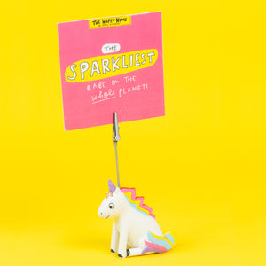 Unicorn Clip Photo Holder - The Happy News collection - Clip Photo Holders - Spiffy