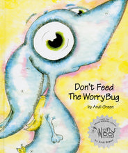 Wince - Don't Feed The WorryBug - WorryWoo Book - Books for Children age 7-11 - Spiffy