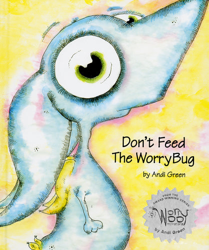 Wince - Don't Feed The WorryBug - WorryWoo Book