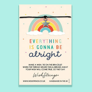 Everything Is Gonna Be Alright - Wishstrings Wish Bracelet - Spiffy