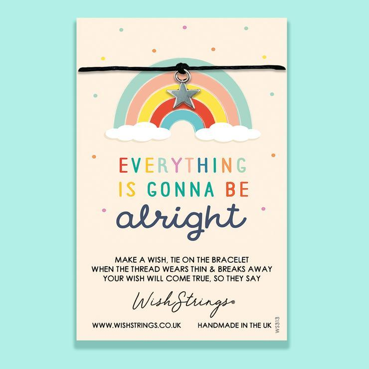 Everything Is Gonna Be Alright - Wishstrings Wish Bracelet