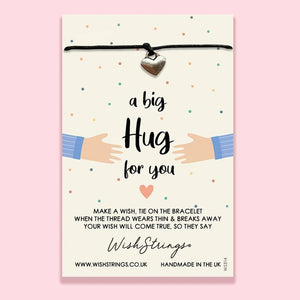 A Big Hug For You - Wishstrings Wish Bracelet - Spiffy