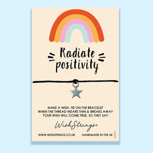Radiate Positivity - Wishstrings Wish Bracelet