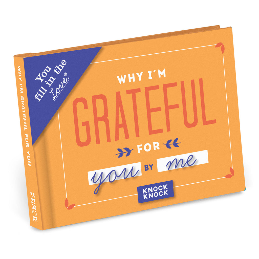 Why I'm Grateful For You - Fill in the Love Journal - Spiffy