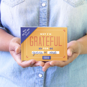 Why I'm Grateful For You - Fill in the Love Journal