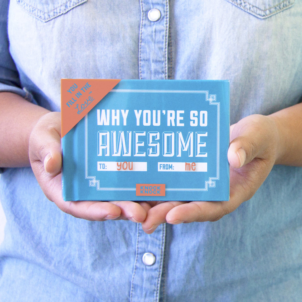 Why You're So Awesome - Fill in the Love Journal - Spiffy