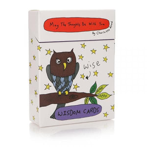 May The Thoughts Be With You Wisdom Cards - Inspirational Message Sets - Spiffy