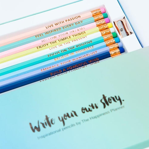 Write Your Own Story Inspirational Pencils