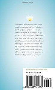 Yoga 365 (Book by Susanna Harwood Rubin) - Books - Spiffy