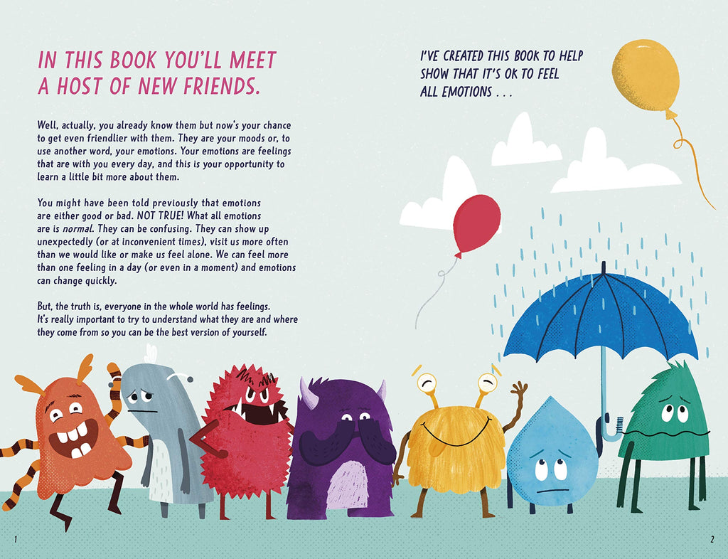 Your Mood Journal - Feelings Journal for Kids (By Fearne Cotton) - Spiffy