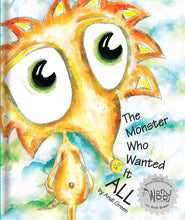 Zelly - The Monster Who Wanted It All - WorryWoo Book - Books for Children age 7-11 - Spiffy
