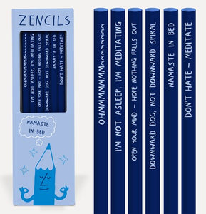 Zencils Pencil Set - Affirmation Pencils - Spiffy
