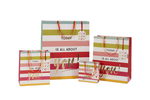 Today is all about you Femme Collection - Shopper - Gift Bags - Spiffy