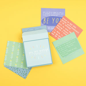 You are Enough Affirmation Cards - Inspirational Message Sets - Spiffy