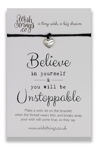 Believe In Yourself - Wishstrings Wish Bracelet - Spiffy