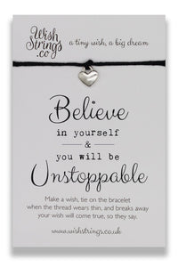Believe In Yourself - Wishstrings Wish Bracelet - Wish Bracelets - Spiffy