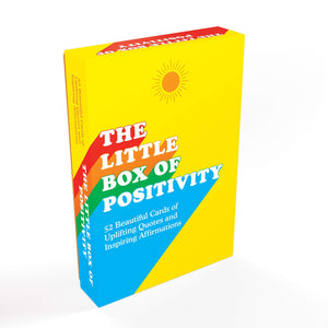 The Little Box Of Positivity Affirmation Cards - Inspirational Message Sets - Spiffy