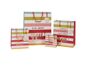 Today is all about you Femme Collection - Large - Gift Bags - Spiffy