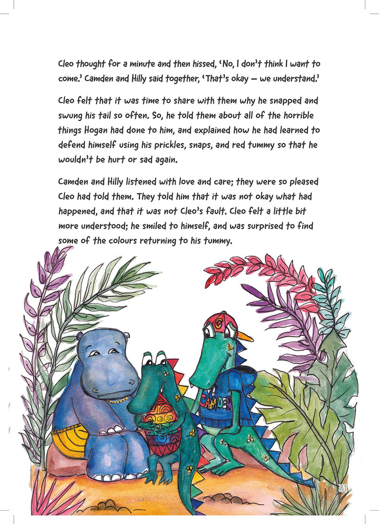Cleo the Crocodile Activity Book for Children Who Are Afraid to Get Close by Dr. Karen Treisman - Spiffy