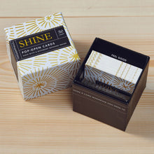 Pop Open Message Cards - Shine