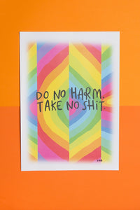 Do No Harm - A4 Signed Print by Katie Abey - Prints - Spiffy